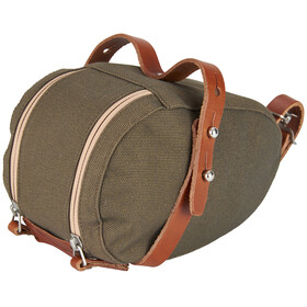 Brooks Isle of Wight - Bolsa bicicleta - Small beige/Oliva